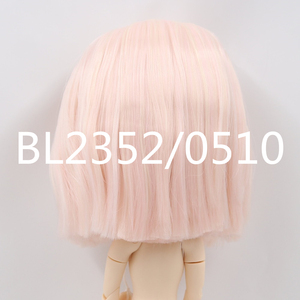 Image 2 - blyth doll icy doll rbl scalp and dome short hair wig toy accessory for DIY custom doll