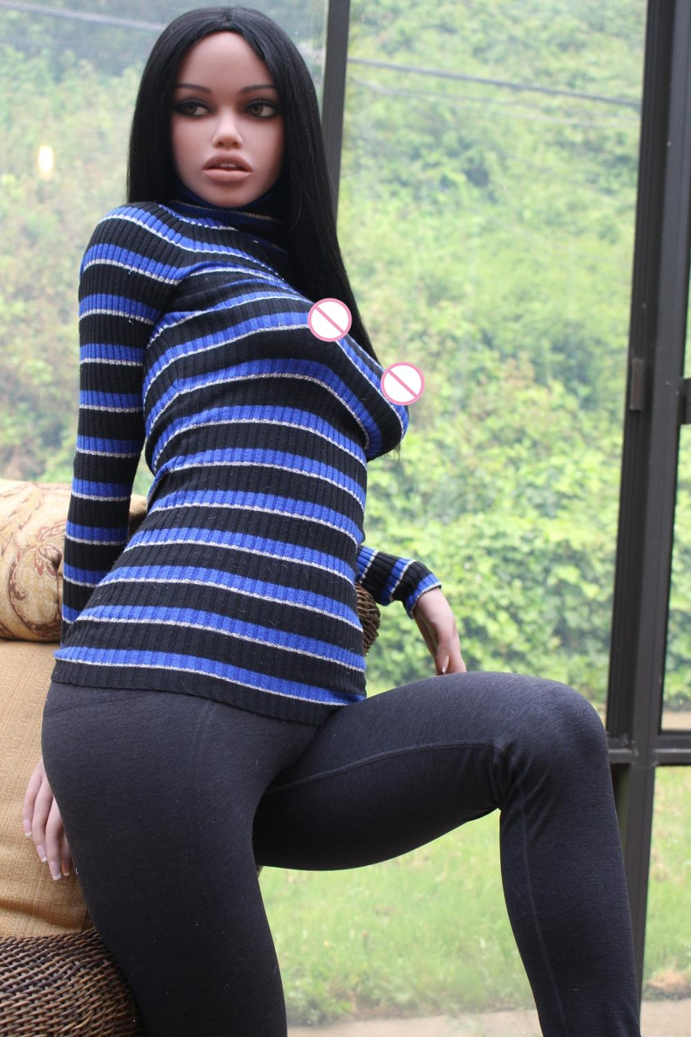 Image 5 - 163CM #Jane love doll TPE and metal skeleton doll with round ass  sex doll full size love adult dollsSex Dolls   -