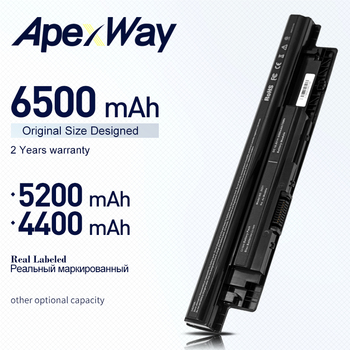 ApexWay Laptop Battery for Dell Inspiron 3521 17R 5721 15R 5521 15 14R 5421 14 3421 MR90Y VR7HM W6XNM mr90y YGMTN XRDW2 T1G4M цена 2017