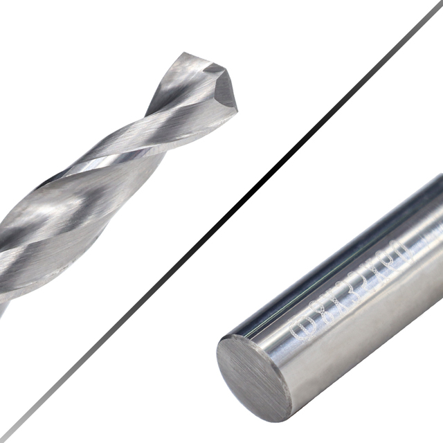 Solid Carbide Drill 80Mm 120Mm Long Length Tungsten Steel 1PCS CNC Hole Processing Coated 5.2mm 80mm