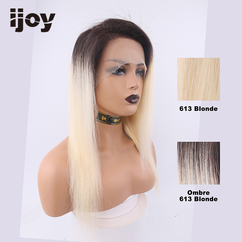 Ombre Human Hair Wigs 13×4 Lace Front 8