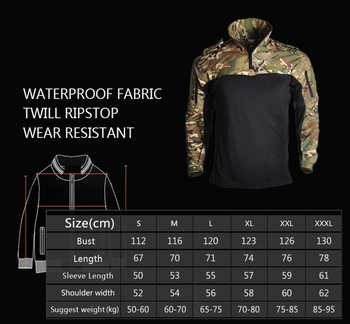 Us Army Clothing Tactical Combat Shirt Military Uniform Tatico Tops Airsoft Multicam Camouflage Hunting Fishing Clothes Mens 2