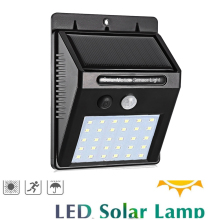 1-10Pcs 20/30 LED Solar Light PIR Motion Sensor Solar Garden Light Outdoor Lighting Energy Saving Street Yard Path Lamp Dropship цены