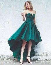 халат де soriee Сексуальная зеленый спинки Привет-Ло платья выпускного вечера 2020 милая атласная платье для коктейля горячие продажи Homecoming платье