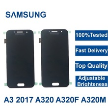 100Tested LCD For Samsung Galaxy A3 2017 A320 A320