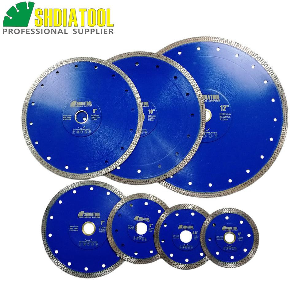 "Dia 4"" 4.5"" 5"" 7"" 8'' 9"" 10"" 12"" Hot Pressed Sintered X Mesh Diamond Saw Blades Marble Tile Ceramic Circular Saw Cutting Blades"