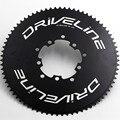 Складной велосипед шоссейный велосипед цепное колесо BCD110/130 Звездочка для велосипеда brompton 75T цепное колесо двигателя цепное кольцо