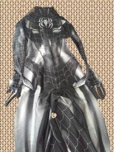 Image 3 - Черный кот симбиот девушка 3D Принт Дешевые спандекс женщина косплей костюм зентай боди горячая распродажа