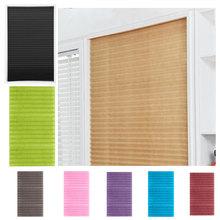 Ventanas autoadhesivas, persianas, cortinas de medio oscurecimiento para baño, balcón para cortinas de sala de estar, ventana, decoración de puerta