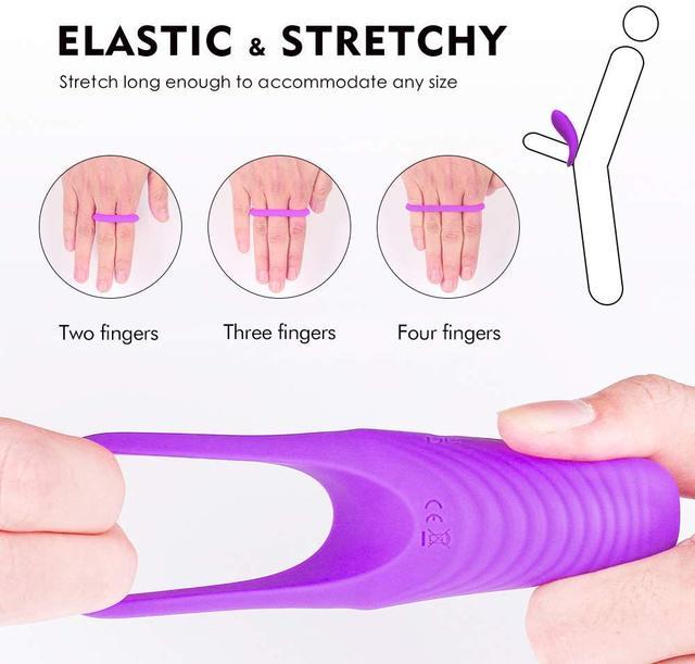 USB Recharge Delay Cocking Vibrating Couple Sex Product Men Remote Control Vibrator Delay Premature Ejaculation Massager Sex Toy 5