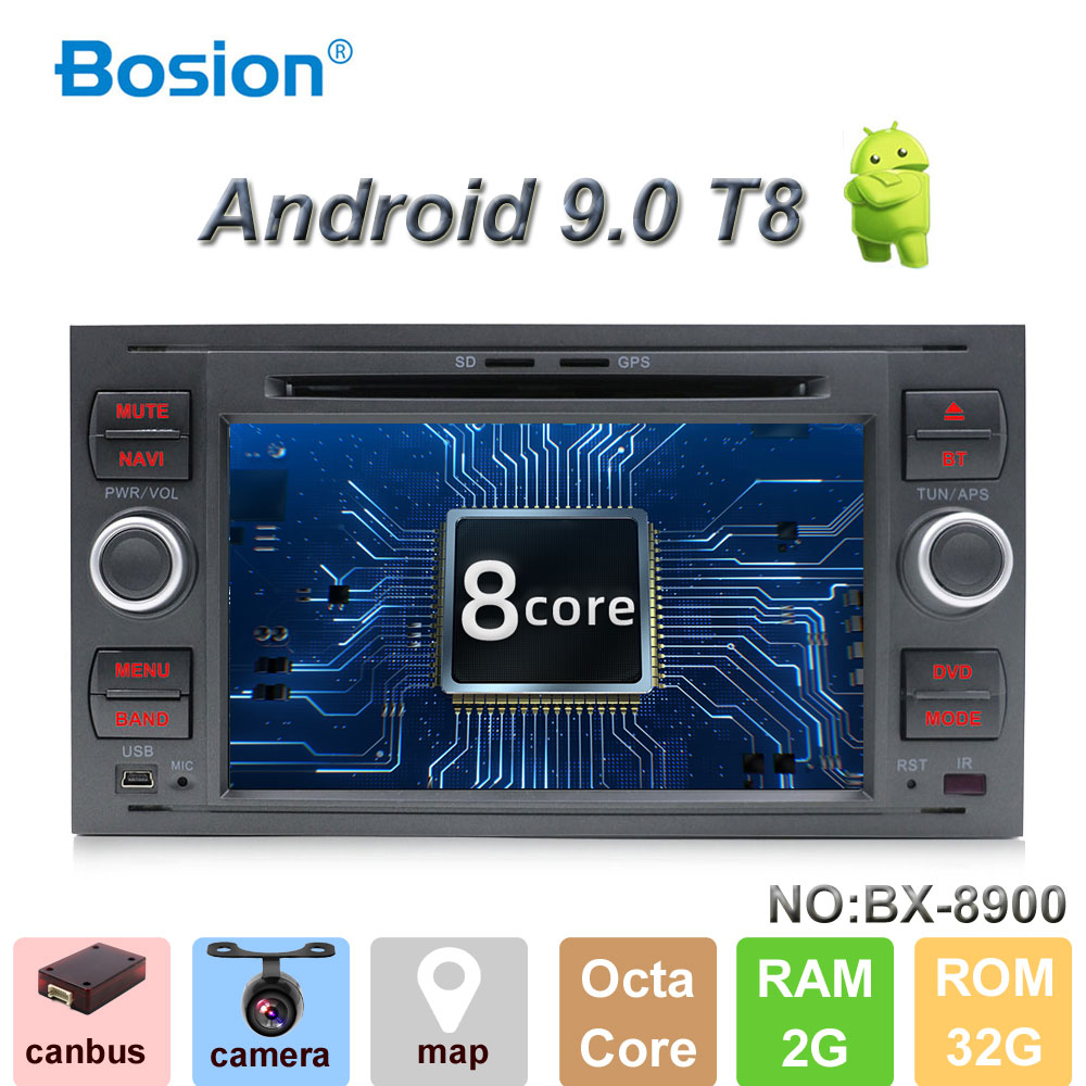 Pure 7Inch 2din Android 8 1 Car DVD Player GPS Navi Stereo Radio For C Max
