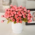 Fashion Sweet And Cute Artificial Vivid Flower Bouquet Home Office Decor Party Weeding Decoration Excellent Material