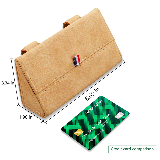 Car Glasses Box Storage Holder Sunglasses Case For chrysler 300c 200 pacifica 6