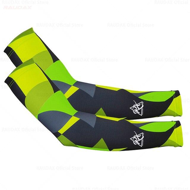 20201 passo rápido aquecedores de perna preto proteção uv ciclismo braço mais quente respirável bicicleta corrida mtb perna manga 4