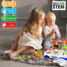 Мальчик головоломка Электрические игрушечные дрели инструмент