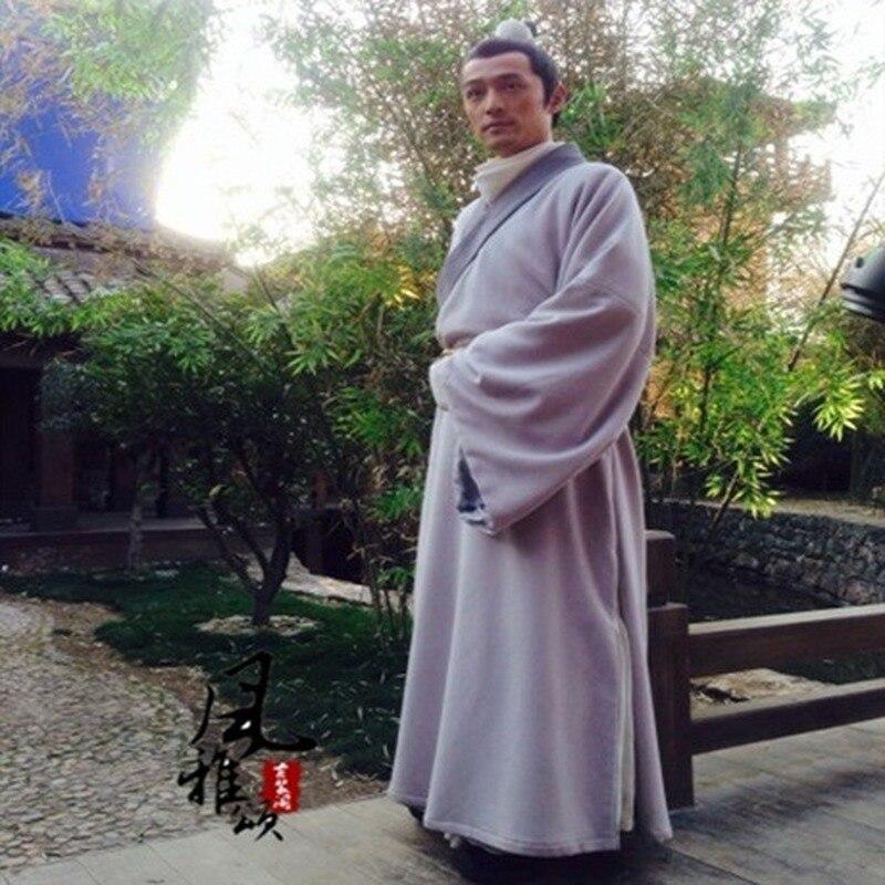 Jeu de télévision Lang Ya Bang Nirvana dans le feu acteur Mei Chang Su homme officier de justice épée hommes Hanfu Costume beaucoup de dessins cadeaux de Cosplay - 3