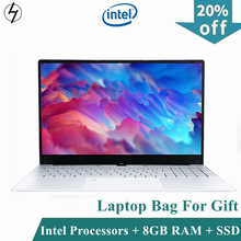 LHMZNIY 15.6 inch Notebook Fingerprint unlock Intel Core I3 5005U 8GB RAM laptop 256GB 512GB 1TB SSD Gaming notebook WiFI Webcam