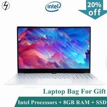LHMZNIY 15.6 inch Notebook Fingerprint unlock Intel Core I3 5005U 8GB RAM laptop 256GB 512GB 1TB SSD Gaming notebook WiFI Webcam