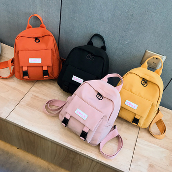 Fashion Mini Backpack Cute Casual Women Backpack Mini Small School Bags for Teenage Girls Mochilas School Backpack Female 1
