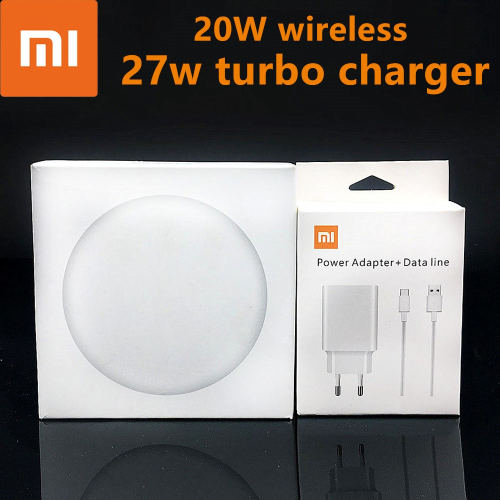 Original Xiaomi wireless <font><b>Charger</b></font> 20w <font><b>27w</b></font> 15v For XiaoMi <font><b>mi</b></font> 9 <font><b>mi</b></font> x 2S <font><b>mi</b></font> x 3 qi Epp (10w) FOR Iphone xs XR XS MAX MULTIPLE Secure image