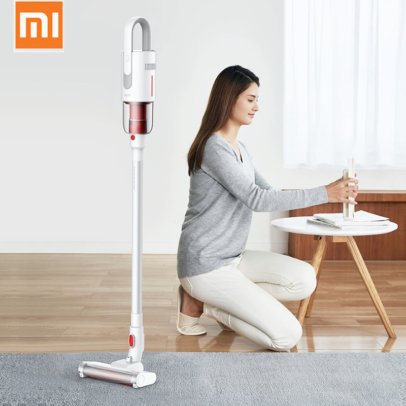 2019 New Xiaomi Deerma VC20 Vacuum Cleaner Auto-Vertical Handheld Cordless Stick Aspirator Vacuum Cleaners 5500Pa For Home Car