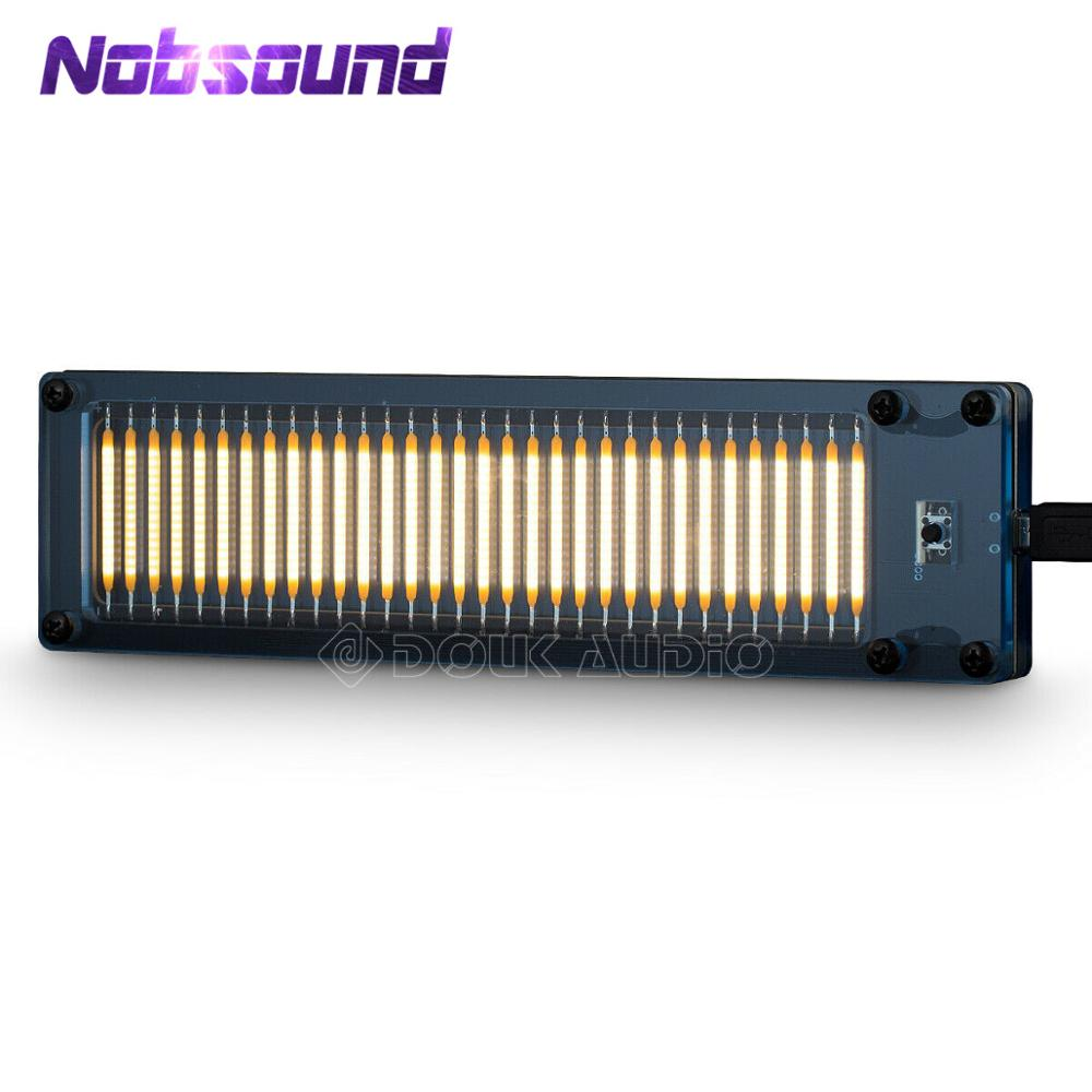 Nobsound Mini 32-Bit MIC Sound Level Dot Matrix DIY Kit Wireless Music Spectrum Audio Lamps For Home Audio Amplifier