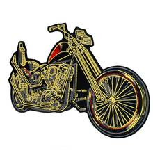 large motorcycle Embroidered punk biker Patches Clothes Stickers Apparel Accessories Badge