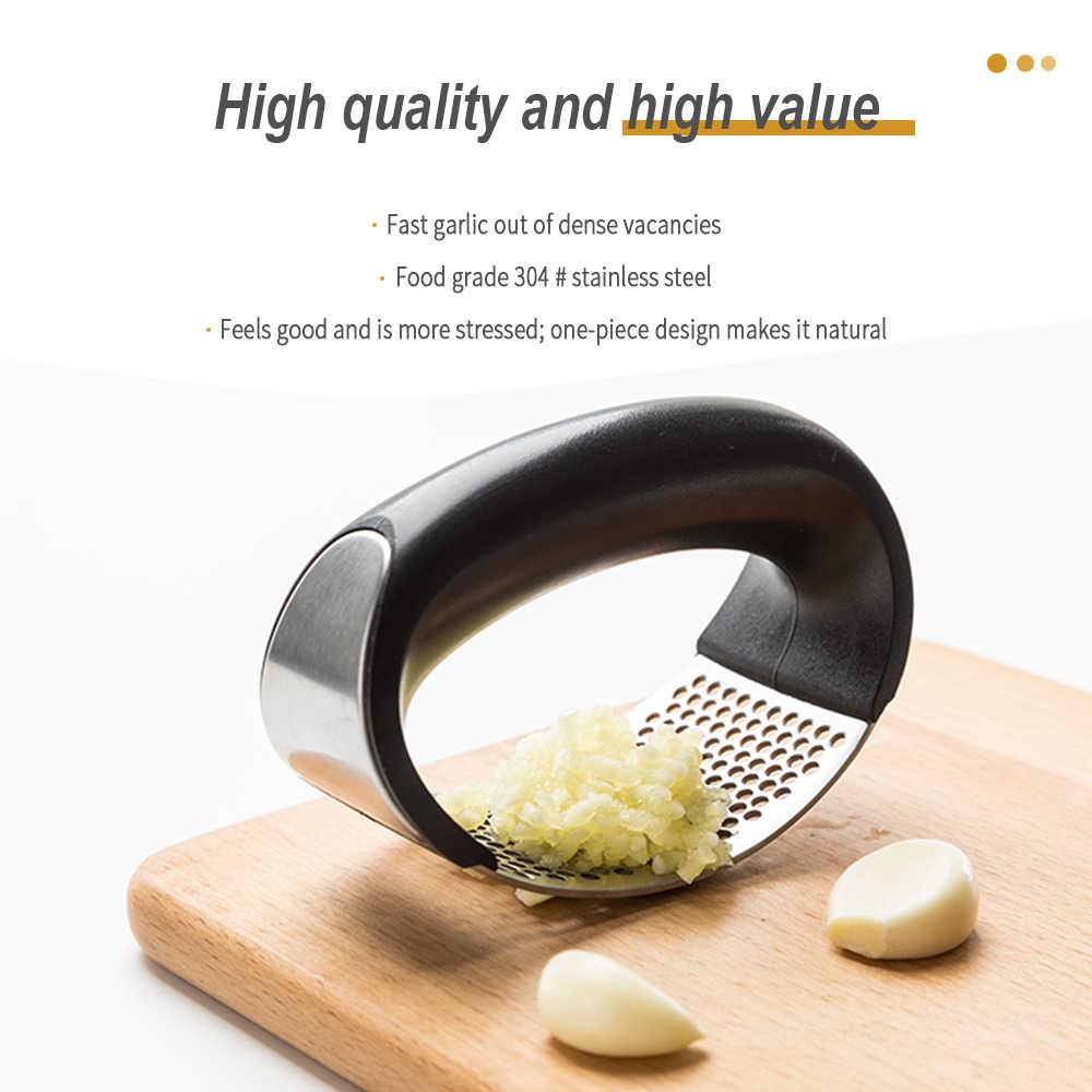 Food Grade Edelstahl Knoblauch Presse Schleifen Reibe Multi-funktion Cutter Küche Zubehör Obst Und Gemüse Werkzeuge 430