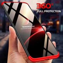 360 Hard Luxury Case Oneplus 7 Pro Funda Shockproof Matte Plastic Full Tempered Glass 6T 6 5T 5 Cover