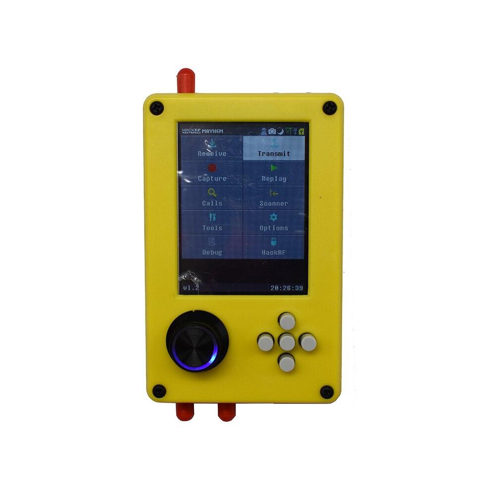 2,5-дюймовый сенсорный ЖК-экран Lusya PortaPack H2 + 3,2 ppm TXCO + HACKRF ONE SDR Radio + Havoc прошивка с батареей 2100 мАч для любительского радио