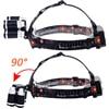 Z35T13 Headlight 4000 Lumen headlamp CREE XML3 5 LED T6 Head Lamp Flashlight Torch head light 18650 battery AC DC charger option promo
