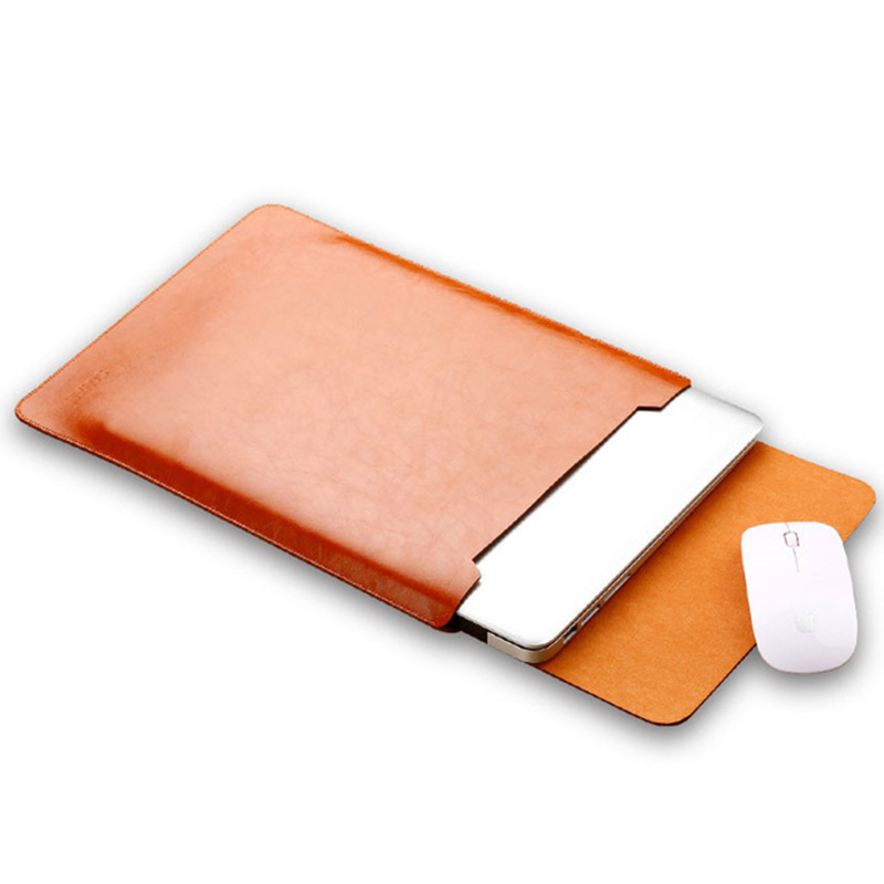 Sleeve For Lenovo Yoga 520 530 14 Inch Laptop Pu Cover Case For 520-14 530-14 Bag Fashion Notebook Pouch Stylus Gift