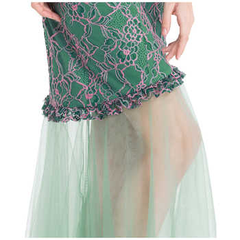 Angel-fashions Wedding Party Boat Neck Mermaid Long Wedding Dress vestido de festa 200 435