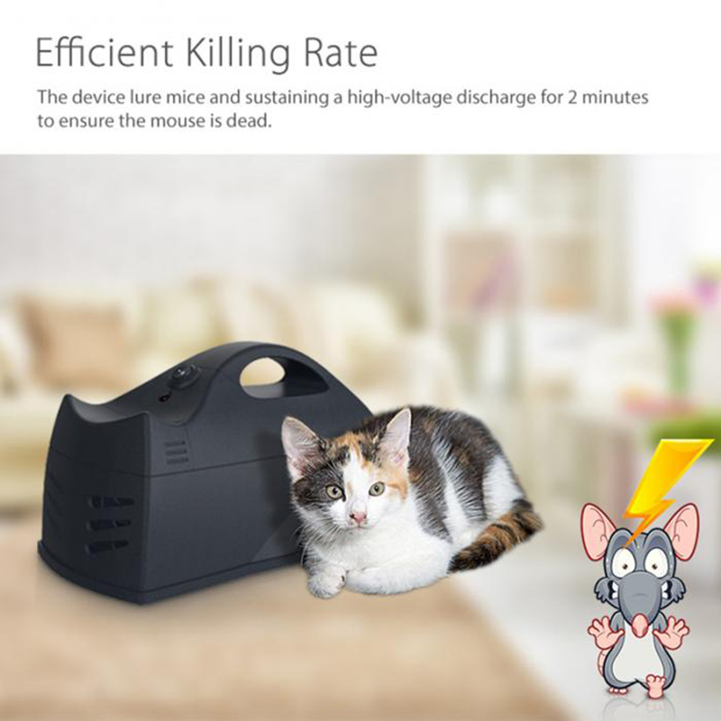 Electronic Mouse Rat Trap Rodent Pest Killer WiFi Remote Control Electric Zapper