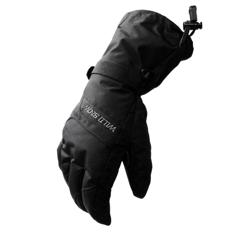 Wild Snow Men And Women Outdoor Warm Gloves Windproof Waterproof Non-Slip Plus Mountaineering Ski Gloves