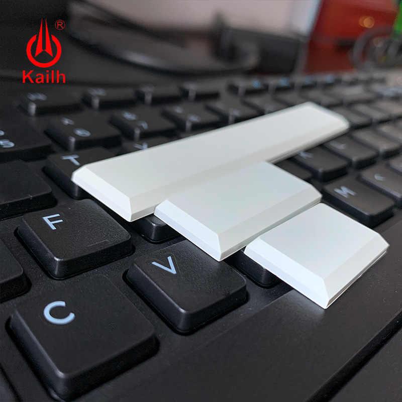 Klawisze niskoprofilowe Kailh biały czarny kolor klawiatura
