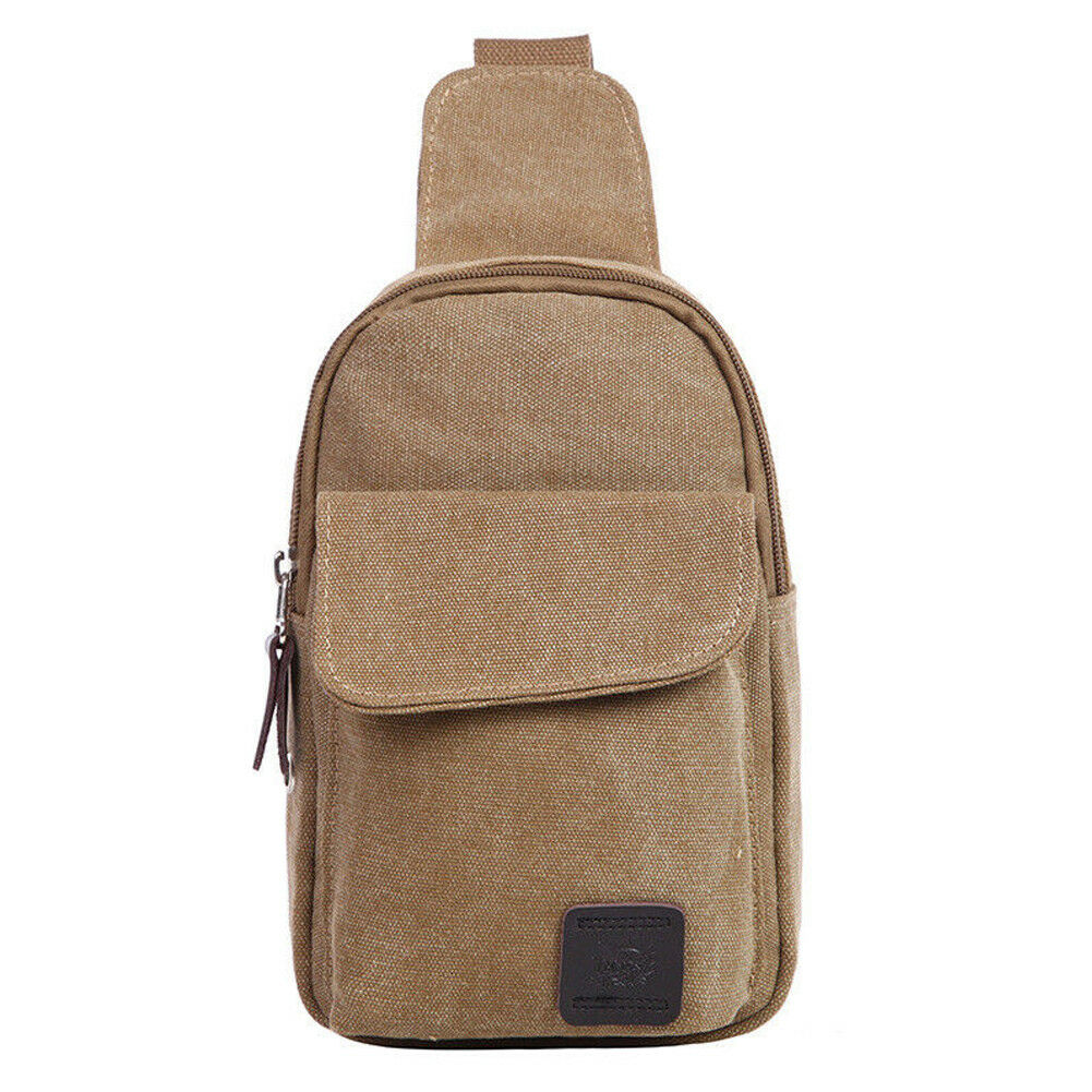 Fashion Men Military Canvas Satchel Shoulder Bag Messenger Black Bag Travel Backpack Five Colors