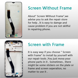 Image 3 - 6.22 นิ้วจอแสดงผล LCD สำหรับ Xiaomi Redmi 8 Touch Screen Digitizer กรอบ 1520*720 สำหรับ Xiaomi Redmi 8A LCD Repair Part