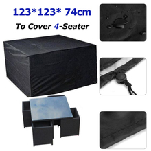 Waterproof Outdoor Garden Furniture Covers Dust Cover Anti Rain Snow House Protector for Table and Chair Patio