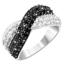 Anillo de compromiso de cristal para mujer ¡joyería de moda decoración y de compromiso de venta al por mayor 2021