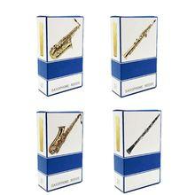 10 шт./компл. альт/Сопрано/тенор саксофон сила тростника 2,5 Bb трость для кларнета