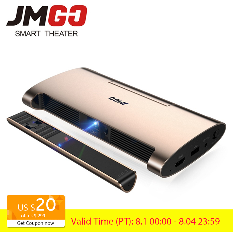 JMGO Smart Projector M6 Android 7 0 Support 4k 1080P Video Set in WIFI Bluetooth Laser
