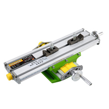 Mini Precision Multi-function Workbench Vise Bit Fixture Drilling and Milling Machine X and Y Axis Adjustment Coordinate Table