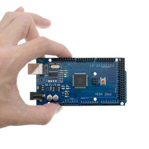 Image 2 - 20 piezas TENSTAR ROBOT Mega 2560 R3 Mega2560 REV3 ATmega2560 16AU placa + Cable USB para arduino