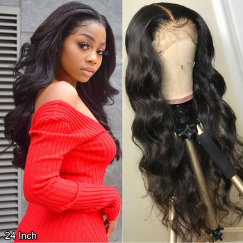 4x4 5x5 peluca con cierre de encaje peluca brasileña de cuerpo ondulado peluca Remy 13x4 13X6 peluca con malla Frontal cabello humano Say Me HD peluca Frontal de encaje transparente