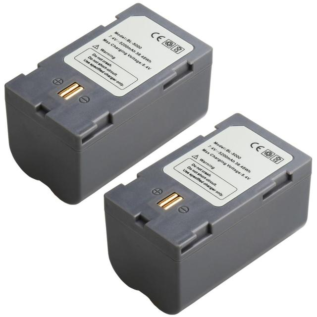 2PCS  Hi target BL 5000 battery for Hi target GPS GNSS measurement
