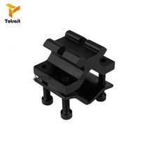TOtrait Outdoor Shooting Tactical Adapter Adjustable Rail Mount Adapter Rifle Scope Laser Flashlight Hunting Sight Bracket