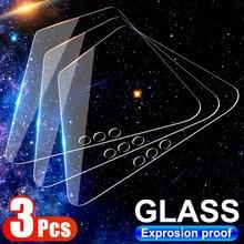 Tempered-Glass Y7A Y9A Huawei for Y8S Y8p/Y7p/Y6s/.. 3pcs Clear Full-Cover Pro