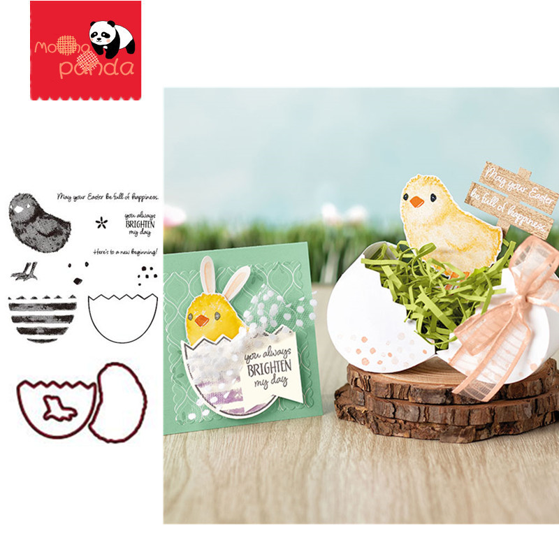 MP071 HAPPINESS Metal Cutting Dies And Stamps Scrapbooking Dies Metal Craft Die Cut Stamps Embossing New 2019 Card Making Decor