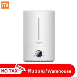 Original Xiaomi Home Deerma 5L Large Capacity Household Mute Air Humidifier Ultrasonic Air Humidifier Purifying Humidifier Aroma(China)